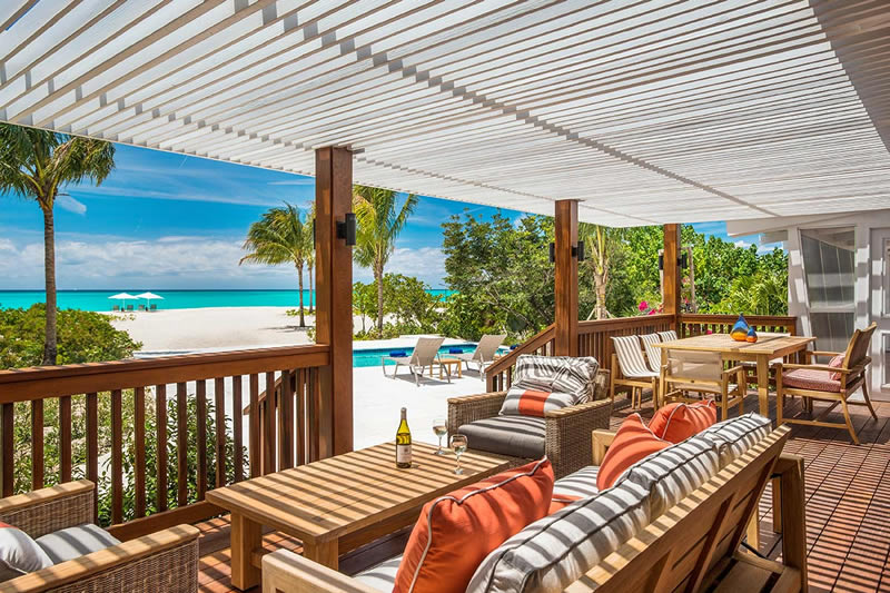The Beach House Two Bedroom Villa On Grace Bay